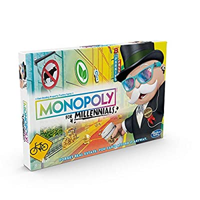 Hasbro Gaming Monopoly for Millennials Board Game: Toys & Games
