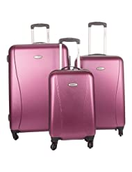 Samsonite Stamina NXT 3-Piece Hard Side 4-Wheeled Expandable Luggage Set - Metallic Rose