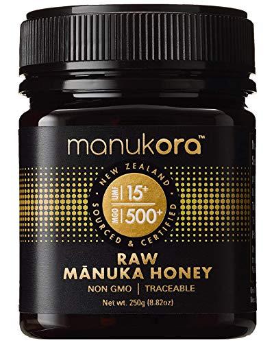 Manukora UMF 15+/MGO 500+ Raw Mānuka Honey (250g/8.8oz) Authentic Non-GMO New Zealand Honey, UMF & MGO Certified, Traceable from Hive to Hand by Manukora (Image #9)