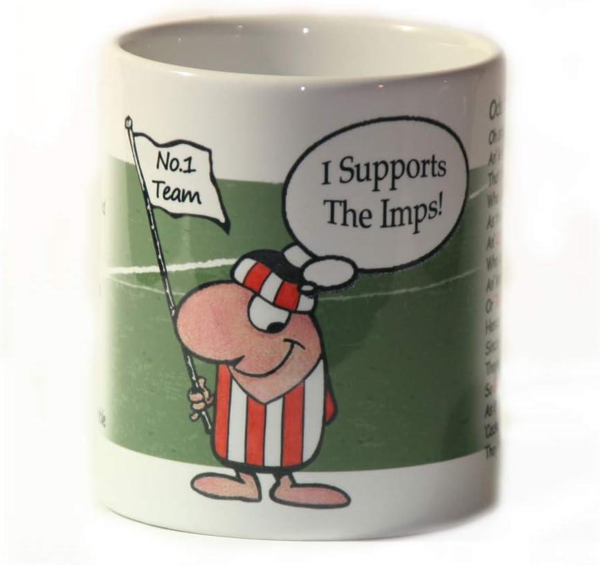 Lincoln City FC Ceramic Mug//Cup