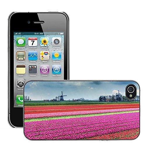 Premio Sottile Slim Cassa Custodia Case Cover Shell // V00002805 Paysage néerlandais // Apple iPhone 4 4S 4G