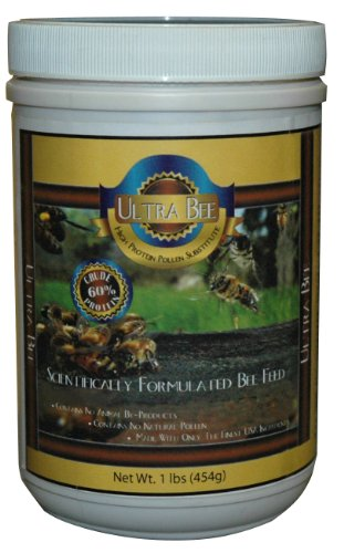 Mann Lake FD213 Ultra Bee Dry Feed Canister, 1-Pound