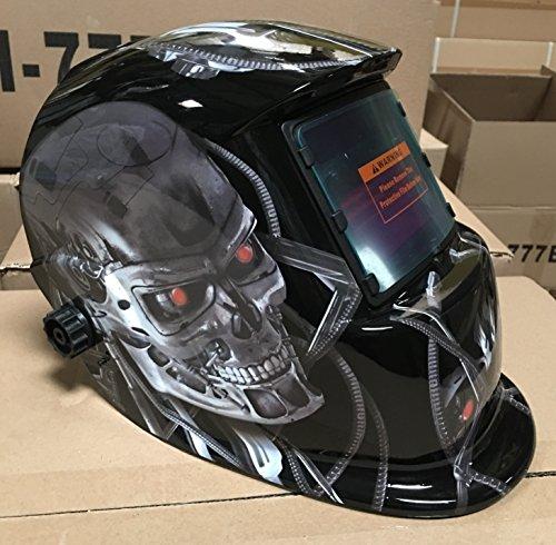 USA seller TMR Auto Darkening Solar Powered Welders Welding Helmet Mask With Grinding Function