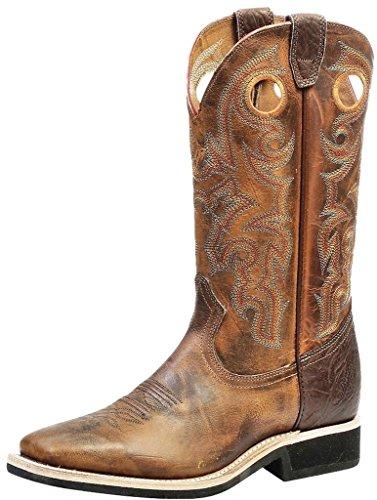 Bottes américaines - bottes de cowboy extra-légères BO-4745-65-E (pied normal) - Homme -