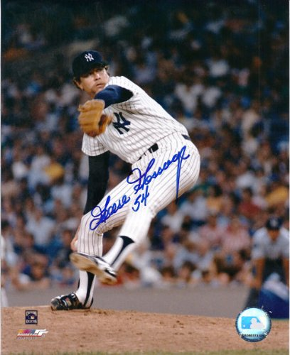 Goose Gossage Autographed New York Yankees 8x10 Action Photo