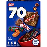 NESTLÉ Assorted Mini Bars - ROLO, Crunch, MACKINTOSH'S - 670g (Pack of 70 Mini Bars)