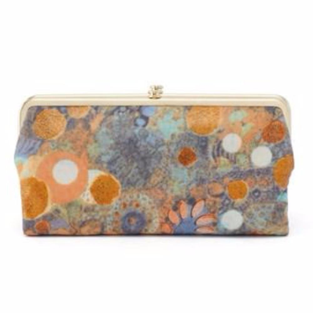 Hobo Womens Lauren Vintage Wallet Clutch Purse (Mystic Garden) by HOBO