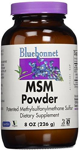 BlueBonnet MSM Powder, 8 Ounces by Blue Bonnet - Msm 8 Oz Powder