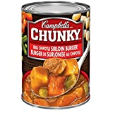 Campbell's Chunky BBQ Chipotle Sirloin Burger Soup, 540 ml
