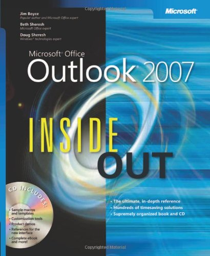Microsoft Office Outlook 2007 Inside Out Front Cover