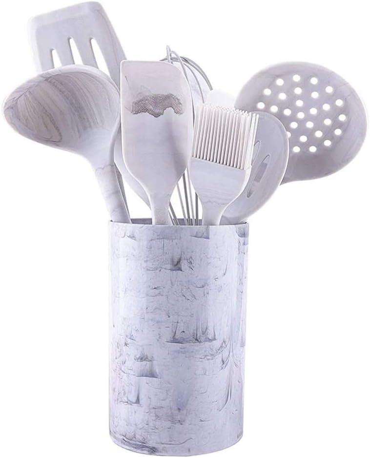 NXYJD Silicona Utensilios de Cocina Utensilios de Cocina Herramientas de Cocina Shovel Spoon Utensilios de Cocina Conjuntos Platos Accesorios Aparatos Conjunto (Size : with Rice Spoon)