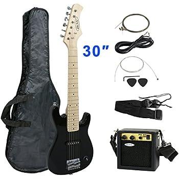 zeny 30 39 39 electric guitar set beginner kits for kids with 5w amp gig bag cable strap. Black Bedroom Furniture Sets. Home Design Ideas
