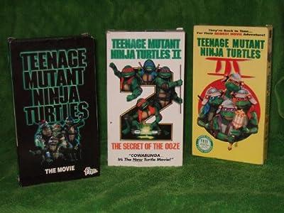 Teenage Mutant Ninja Turtles TRILOGY: Teenage Mutant Ninja Turtles the movie; Teenage Mutant Ninja Turtles II: The Secret of the Ooze and Teenage Mutant Ninja Turtles III