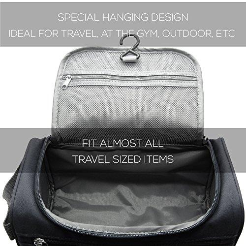 Mister Bag Toiletry Bag Hanging Travel Toiletries Bag, Black by Mister Bag (Image #4)