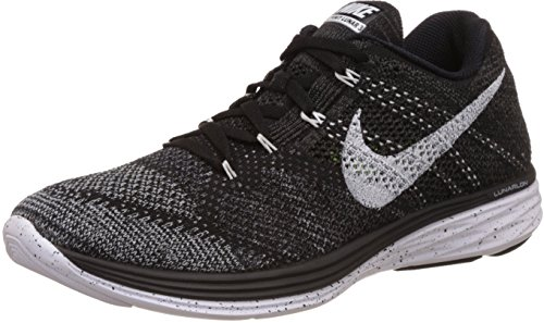 NIKE Womens WMNS Flyknit Lunar3 Ghost Green/Black-Pink Foil Fabric Black/White-mid Fog-wolf Grey where to buy cheap real S72xnBQp