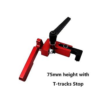 Laecabv 75 Tipo T-Track ranura en T Miter Track, aleación de ...