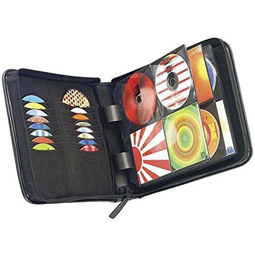 CASE LOGIC KSW-128T 128-Disc CD Wallet (KSW-128TBLACK)