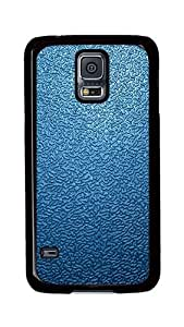 Samsung Galaxy S5 Case, S5 Cases - Blue Traces The Background 2 Ultimate Protection Scratch Proof Soft TPU Rubber Bumper Case for Samsung Galaxy S5 I9600 Black