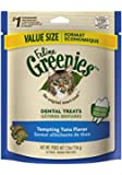GREENIES Dental Cat Treats, Tempting Tuna, 5.5 oz.