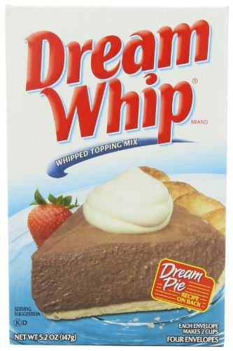 Amazon Com Dream Whip Whipped Topping Mix 5 2 Ounce Boxes Pack Of 6 Cake Mixes Grocery Gourmet Food