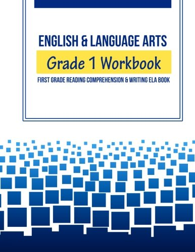 English & Language Arts Grade 1 Workbook: First Grade Reading ...