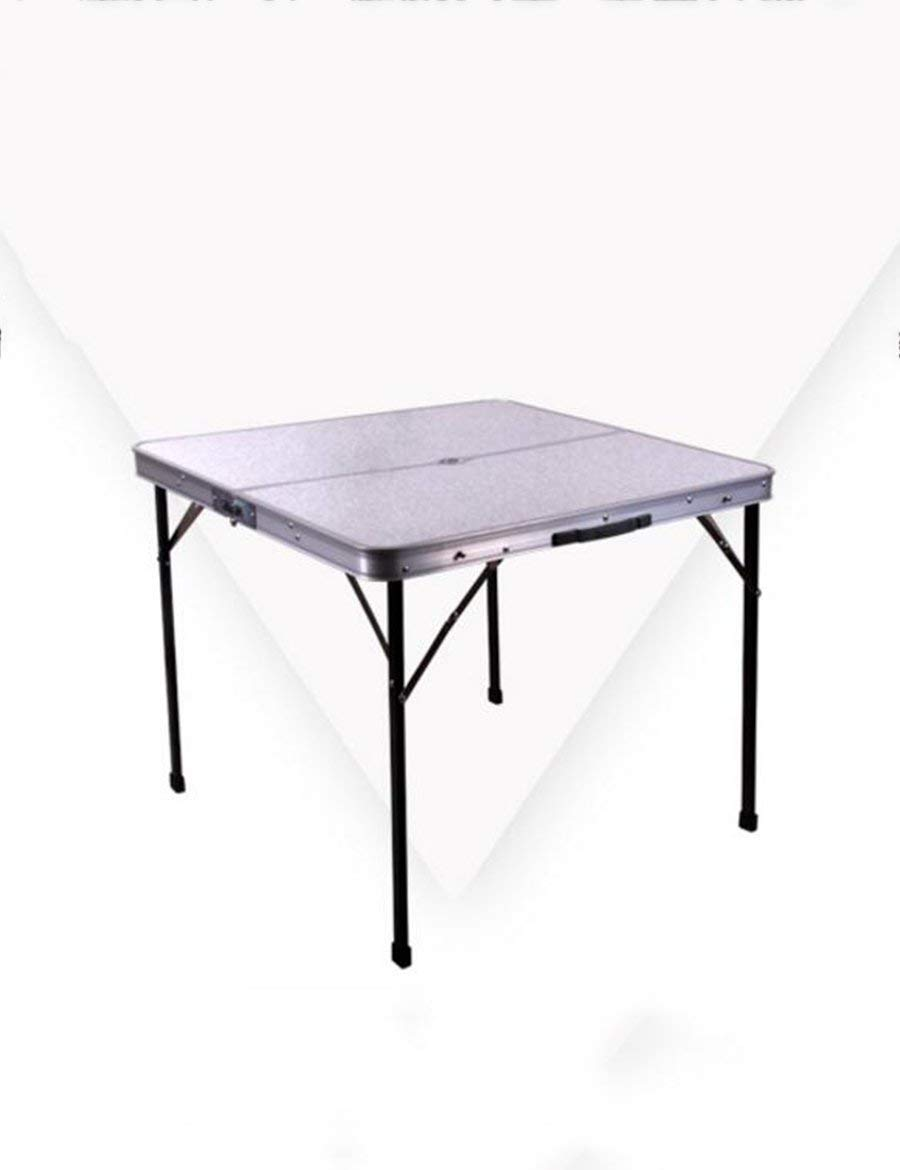 STTS Lazy Table- Can Be Portable Folding Dining Table Square Table Desk Outdoor Camping Table Save Space