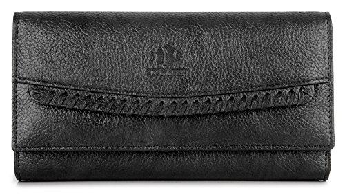 The Clownfish Leatherette Wallet for Women Ladies Purse Han