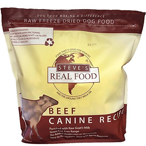 Steve's Freeze Dried Nuggets 1.25# (Beef)