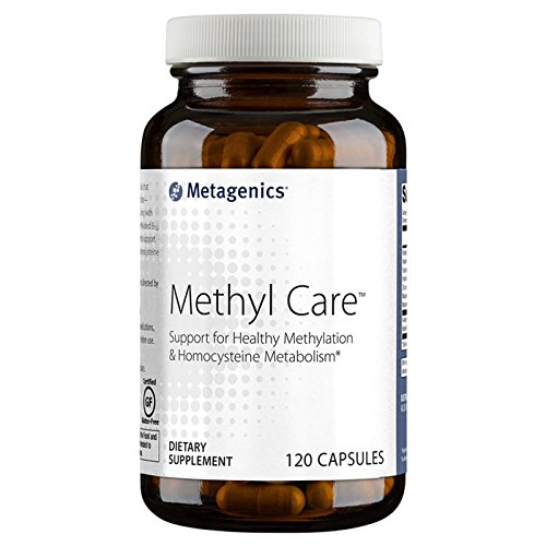 Metagenics Methyl Care (Formerly called Metagenics Vessel Care) Supplement, 120 Count (120) by Metagenics