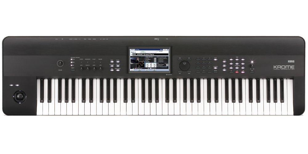 Korg KROME73 - Key Keyboard Production Station by Korg