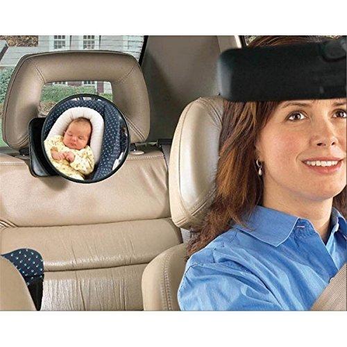 Retrovisor para sillitas de bebé y sistemas de retención infantil, para observar a su bebé en el asiento trasero Saro