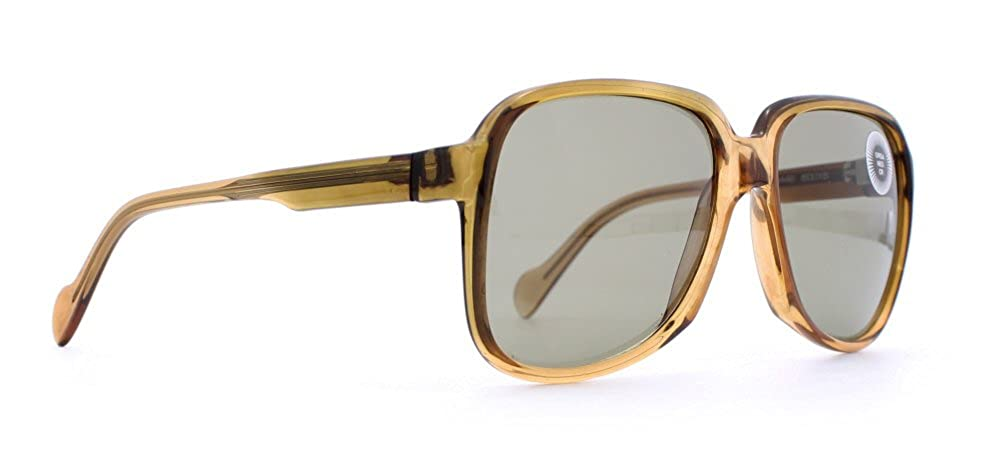 a58180866310 Amazon.com  Neostyle Sunart 650 448 Brown Authentic Men Vintage Sunglasses   Clothing