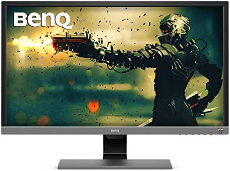 BenQ EL2870U 28 inch 4K Monitor for Gaming 1ms Response Time, FreeSync, HDR, eye-care, audio system