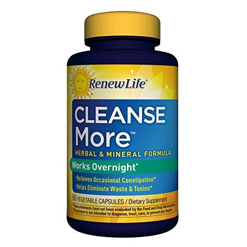 Renew Life Cleanse More Capsules