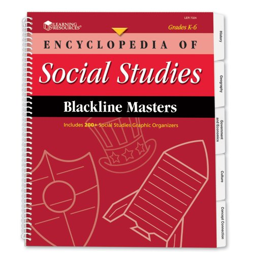 Encyclopedia Of Social Studies Blackline Masters