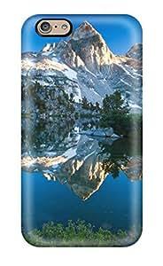 Hot Design Premium Tpu Case Cover Iphone 6 Protection Case(mountain Lake)