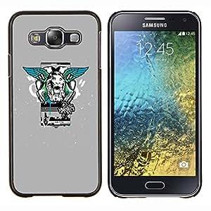 """For Samsung Galaxy E5 E500 , S-type Estilo León Alas calle"""" - Arte & diseño plástico duro Fundas Cover Cubre Hard Case Cover"""