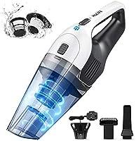Holife Handheld Vacuum Cordless, 6.5Kpa Powerful Handheld Hoover Vacuum Cleaner, Portable Lightweight Hand Vac...