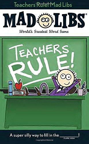 Teachers Rule! Mad - English Teacher Gifts