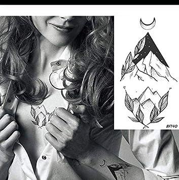 LFVGUIOP Valle Negro Tatuaje Temporal de Las Mujeres Sexy Brazo ...