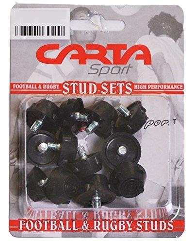 Carta deportes Rugby fútbol deportes bota/tacos de zapatos 12unidades (8largo/corto 4)