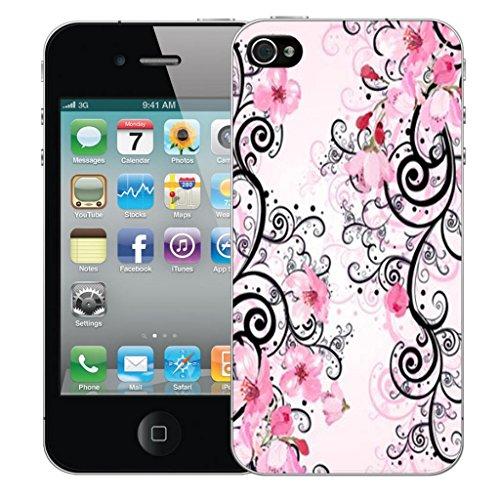 Mobile Case Mate iPhone 5c Concepteur Dur IMD coque Affaire Couverture Case Cover Pare-chocs Coquille - Pink Cluster Flowers Modèle