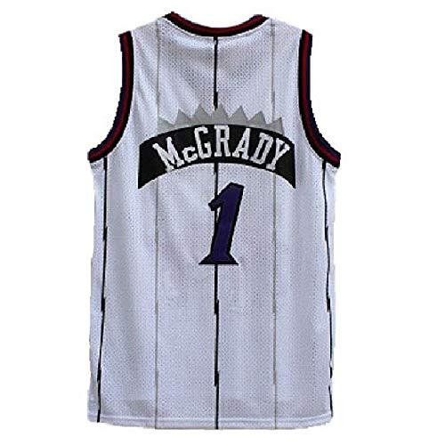 (Mens Tracy Jersey Retro Toronto Basketball #1 Jerseys McGrady Jersey (L,)