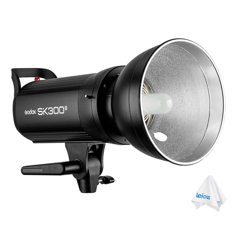 Godox SK300II Studio Flash 300w GN65 5600K Monolight with Built-in Wireless 2.4G Transmission - Bowens Mount