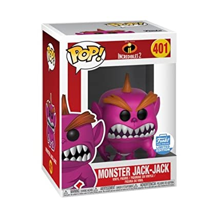 6bc79eb1900 Amazon.com  Funko Pop! Disney  401 Incredibles 2 Monster Jack Jack ...