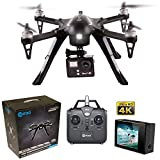Contixo F17+ RC Quadcopter Photography Drone 4K Ultra HD Camera 16MP, Brushless Motors, 1 High Capacity Battery, Supports GoPro Hero Cameras - Best Gift