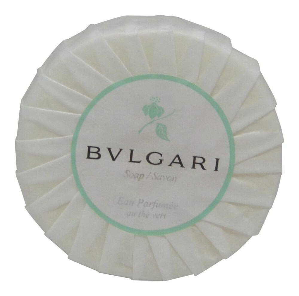 Bvlgari/Bulgari Au The Vert (Green Tea) Pleated Soap - 150 Grams
