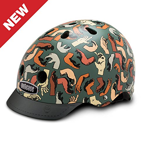 Nutcase - Patterned Street Bike Helmet