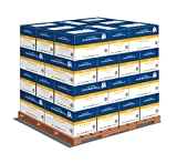 Hammermill Paper, Fore Multipurpose, 8.5 x 11, Letter, 24lb, 96 Bright, 5000 Sheets per Carton - 32 Cartons per Pallet, 160,000 Shhets (103283PLT) Pallet Pricing, Made In The USA