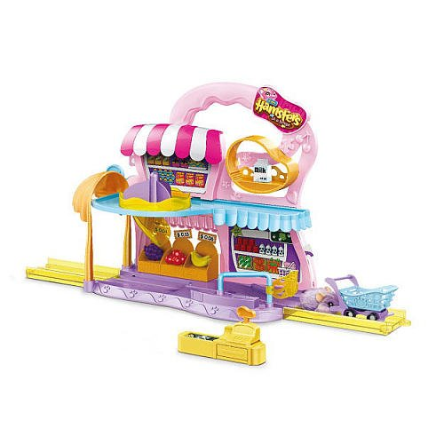 Hamsters in a House Super Market Doll House (Hamsters In A House Playset Ultimate House)